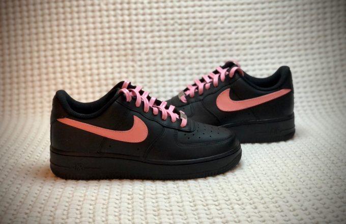 Pink Custom nike shoes
