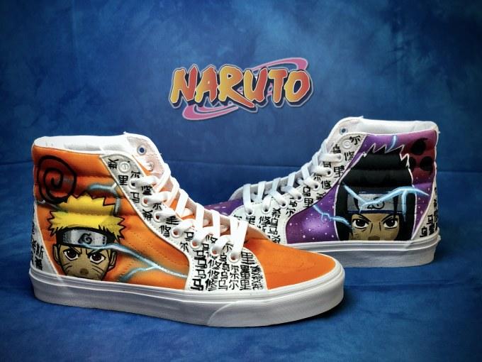 Naruto Custom shoe