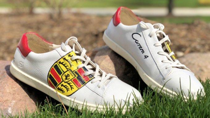 Porsche Custom Shoes